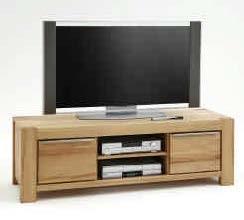 "Tv Kommode Tv Lowboard ""Nena"" Massivholz Kernbuche geölt 6667"