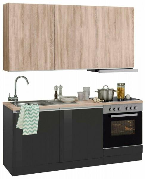 Küche , Küchenzeile , Küchenblock Oregon , mit Geräten