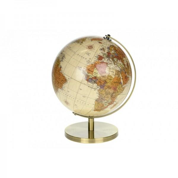 Globus auf Metallständer hell