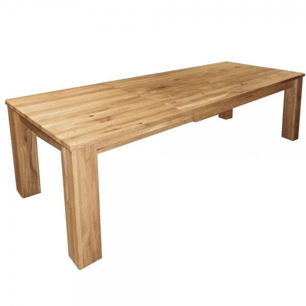 Tisch , Auszugstisch , Eiche Massiv , 200cm auf 270cm Auszug