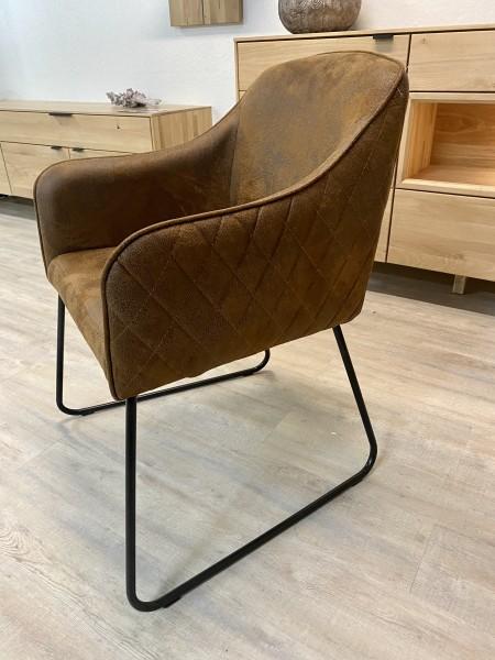 Stuhl , Armlehnen Stuhl , Armlehnen Sessel , Vintage Braun , Youri 3