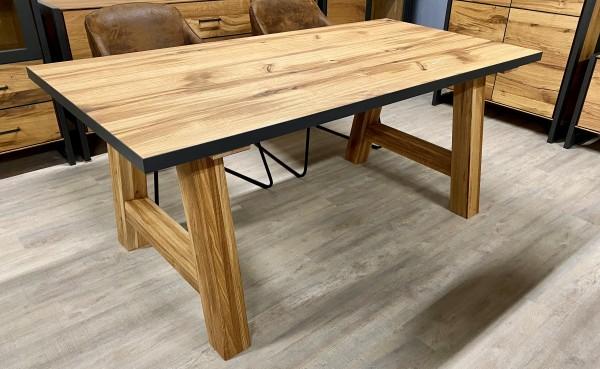 Tisch , Rustica Eiche , Balkeneiche , Unikat , 180 cm x 90 cm