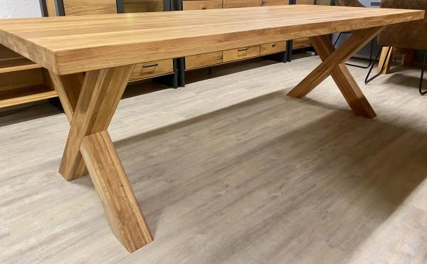 Esstisch Eiche Massiv ,Tisch 240 cm x 100 cm , 5 Gestell Varianten zur Auswahl !