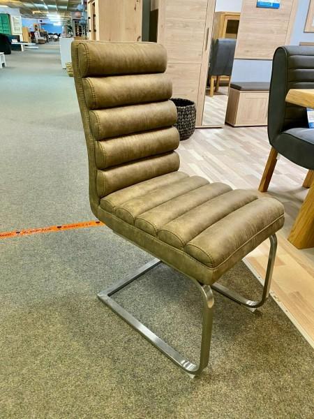 Stuhl , Polsterstuhl , Freischwinger , Modell Nayla von MCA