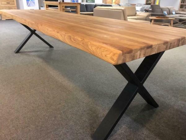 Esstisch ,Tisch, Eiche Massiv , Baumkante 300 cm ! XXL Format