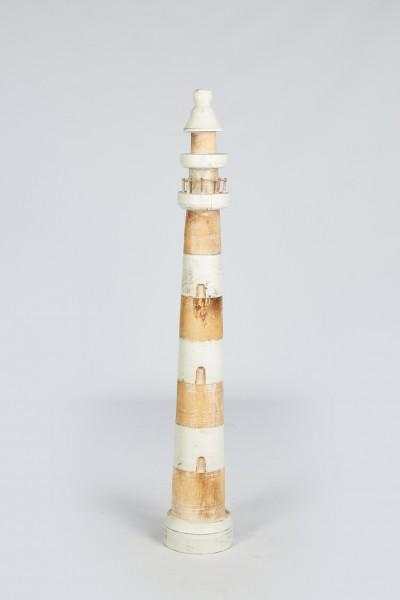 Leuchtturm Holz natur