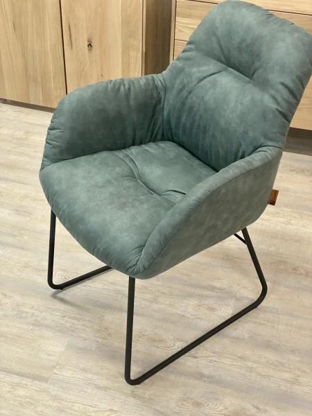 Stuhl , Armlehnen Stuhl , Armlehnen Sessel , Vintage Blau , Modell Easton